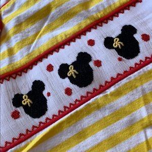 Shirts & Tops - Smocked Mickey Mouse shirt
